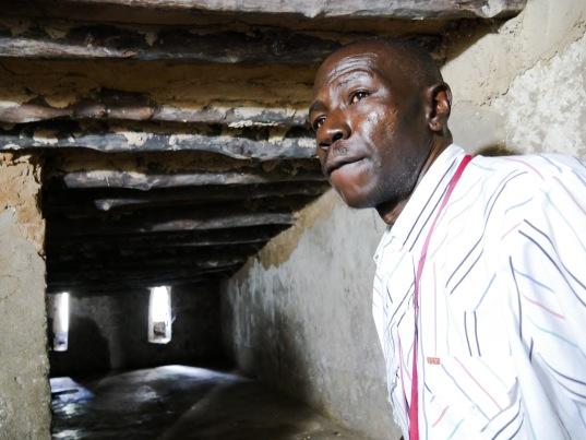 Slave chambers in Zanzibar
